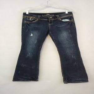 Almost Famous Size 9 Junior Denim Bootcut Jeans